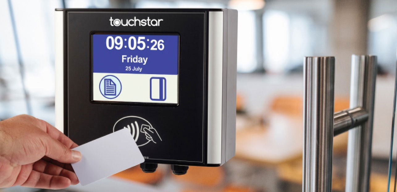 TouchStar proximity card reader for time and attendance